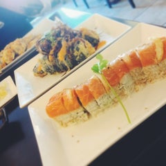 Photo taken at Orange Roll & Sushi by Kiera F. on 6/9/2013