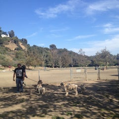 Photo taken at Laurel Canyon Dog Park by Will B. on 10/13/2012