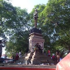 Photo taken at Alun - Alun Pemalang by aris b. on 7/29/2014