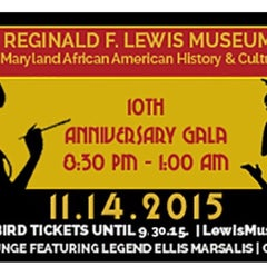 Photo taken at Reginald F. Lewis Museum of Maryland African American History and Culture by Cori A. R. on 9/30/2015