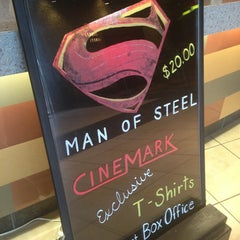 Photo taken at Cinemark Robinson Township and XD by Adam J. on 6/20/2013