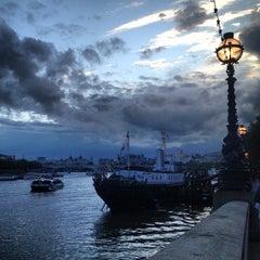Photo taken at HMS President (1918) by Lauren on 9/26/2012