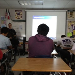 Photo taken at RHS Economics by Zachary P. on 4/3/2012