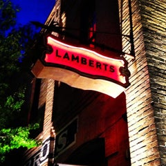 Photo taken at Lambert's Downtown BBQ by Gray C. on 3/14/2013