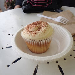 Photo taken at LuLi's Cupcakes by Charles P. on 2/22/2014
