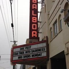 Photo taken at Balboa Theatre by RichmondSFBlog on 6/8/2013