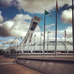 Photo taken at Stade Olympique by Sarmad A. on 9/20/2012