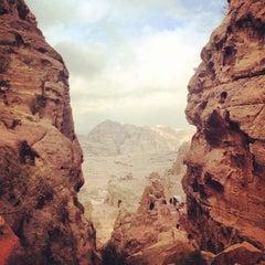 Photo taken at Petra البتراء by Rafi S. on 12/25/2012