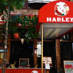 Photo taken at Harley's Smokeshack & BBQ by The Corcoran Group on 7/29/2013