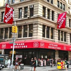 Photo taken at Strand Bookstore by The Corcoran Group on 7/18/2013