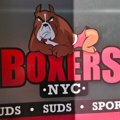 Photo taken at Boxers NYC by The Corcoran Group on 7/9/2013