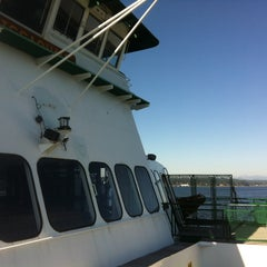 Photo taken at M/V Issaquah by steve m. on 8/31/2013