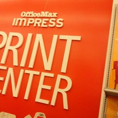 Photo taken at OfficeMax by Tay B. on 2/1/2013