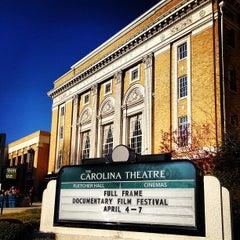 Photo taken at Carolina Theatre Of Durham by Bob N. on 4/7/2013