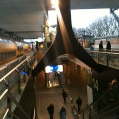 Photo taken at Station Rotterdam Centraal by Jacq D. on 11/18/2012