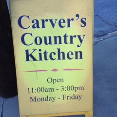 Photo taken at Carver's Country Kitchen by Carlton M. on 12/21/2012