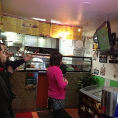 Photo taken at Lazaros Pizza House by Fred G. on 1/27/2013