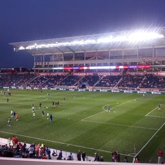 Photo taken at Toyota Park by Nick on 9/16/2012