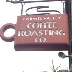 Photo taken at Carmel Valley Coffee Roasting Company by Chona G. on 6/22/2014
