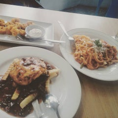 Photo taken at Gaboh Grill Burger by Grace S. on 7/28/2015