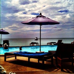 Photo taken at Amantra Resort & Spa Koh Lanta by Denise M. on 1/2/2013