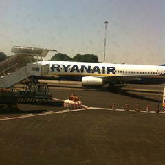 """Photo taken at Aeroporto di Roma Ciampino """"Giovan Battista Pastine"""" (CIA) by Vizio on 6/28/2012"""