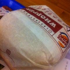 Photo taken at Burger King by BORI M. on 10/2/2012