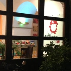 Photo taken at Restaurante La Huerta Café by Jesus O. on 7/26/2013