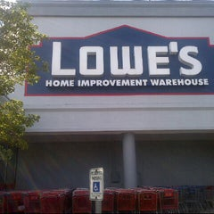 Photo taken at Lowe's Home Improvement by Jeff P. on 6/28/2013