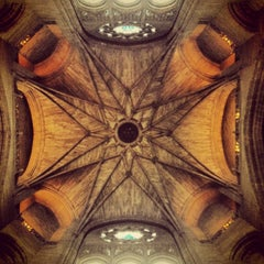 Photo taken at Liverpool Cathedral by Sam B. on 7/16/2013