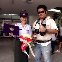 Photo taken at โรงเรียนช่างฝีมือทหาร by satid k. on 3/18/2014