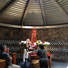 Photo taken at Our Lady of Fatima Shrine by Happy G. on 5/15/2013