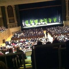 Photo taken at Township Auditorium by Lauren F. on 11/13/2012