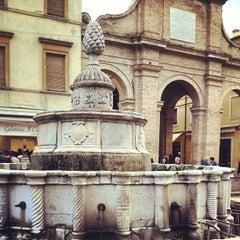 Photo taken at Fontana della Pigna by Patrizia fashion4travel B. on 3/30/2013