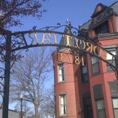 Photo taken at Ledroit Park Gate by Phil R. on 4/3/2013