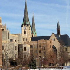 Photo taken at Marquette University by Melinda on 2/2/2013