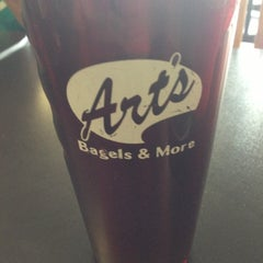 Photo taken at Art's Bagels and More by Mike F. on 7/16/2013