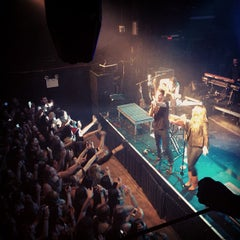 Photo taken at Irving Plaza by Christine B. on 4/3/2013