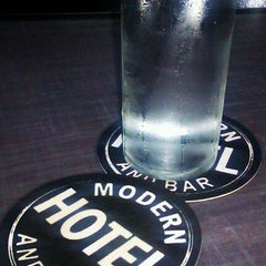 Photo taken at Modern Hotel & Bar by Amber D. on 10/30/2012