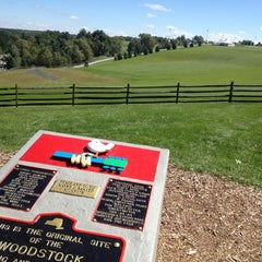 Photo taken at Woodstock original site by SizzleMel on 9/8/2013