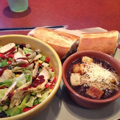 Photo taken at Panera Bread by Ania on 8/24/2013
