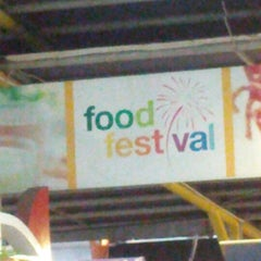 Photo taken at Food Festival by Yonathan P. on 12/1/2012