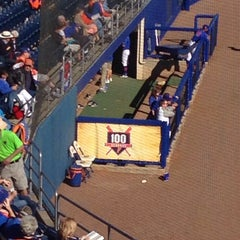 Photo taken at McKethan Stadium at Perry Field by Ralph on 5/9/2014