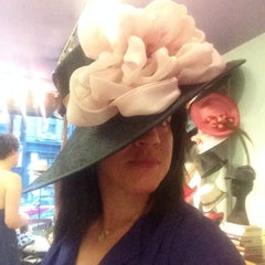Photo taken at The Hat Shop by Elizabeth I. on 8/19/2014