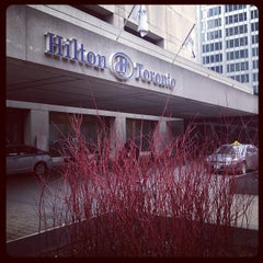 Photo taken at Hilton Toronto by Melo V. on 12/3/2012