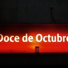 Photo taken at Cercanías 12 de Octubre by Ricardo R. on 9/24/2013