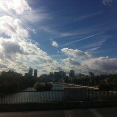 Photo taken at Pont de Levallois by Dimitri D. on 10/5/2012