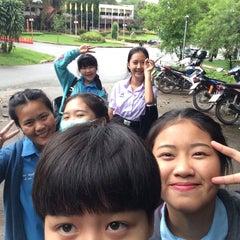 Photo taken at มหาวิทยาลัยราชภัฎเชียงราย (Chiangrai Rajabhat University) by เบลล่าสวอน ต. on 8/4/2015