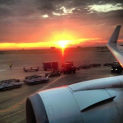 Photo taken at Dallas Fort Worth International Airport (DFW) by Mia on 6/15/2013