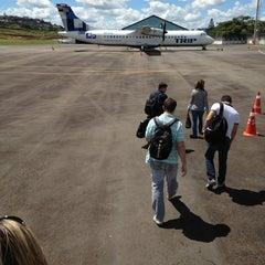 Photo taken at Aeroporto de Juiz de Fora / Serrinha (JDF) by Kelzinha on 3/16/2013